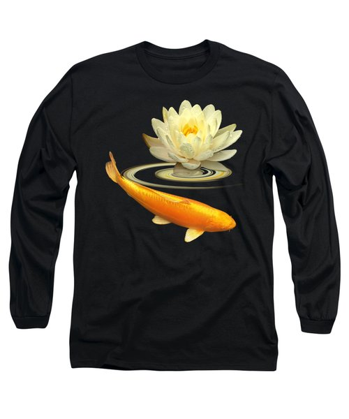 Golden Harmony Square Long Sleeve T-Shirt