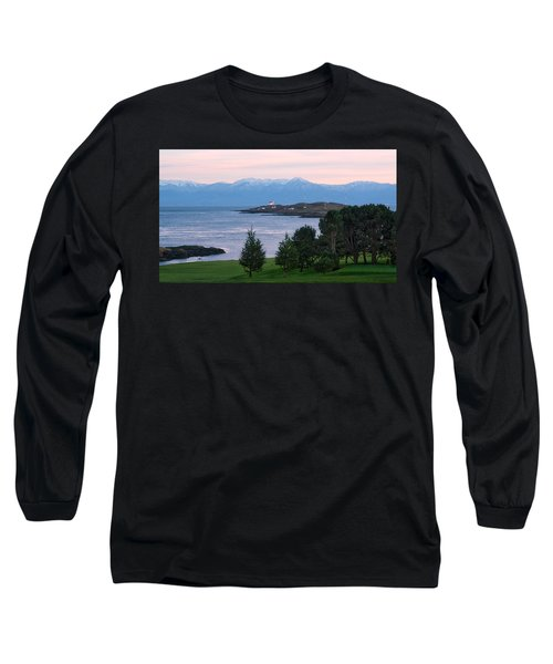 Trial Island Sunset Long Sleeve T-Shirt by Keith Boone