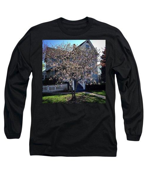 Golden Hour Magnolia   Long Sleeve T-Shirt