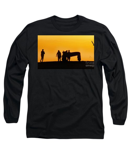 The Golden Hour Long Sleeve T-Shirt by Rhonda Strickland