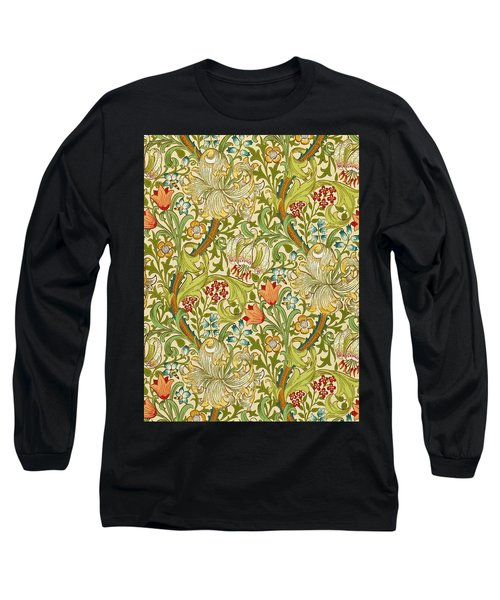 Golden Lily Long Sleeve T-Shirt