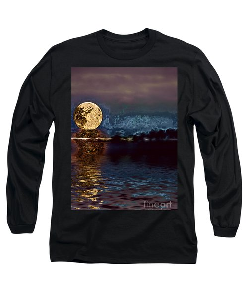 Golden Moon Long Sleeve T-Shirt