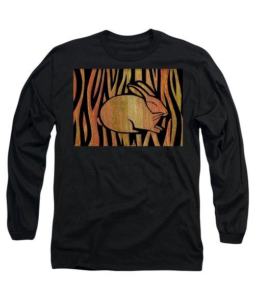 Golden Rabbit Long Sleeve T-Shirt