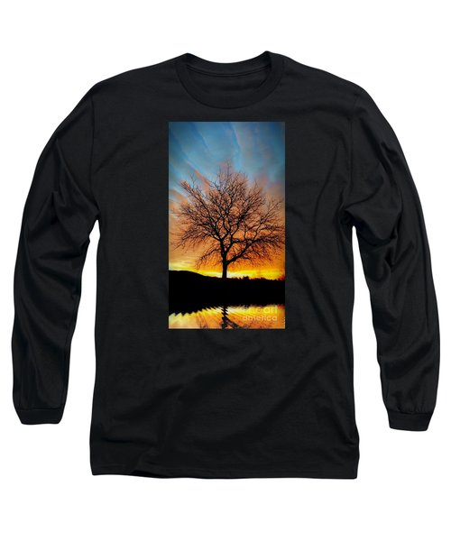 Golden Reflection Long Sleeve T-Shirt