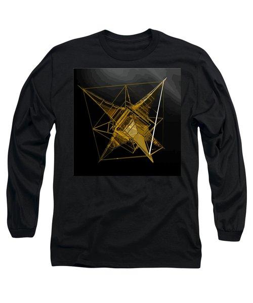 Golden Space Craft Long Sleeve T-Shirt