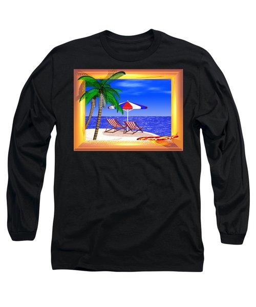 Golden Summer Long Sleeve T-Shirt