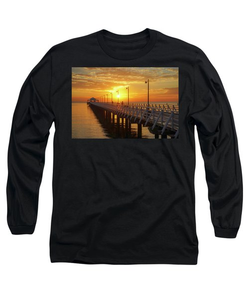 Golden Sunrise Down By The Bay Long Sleeve T-Shirt