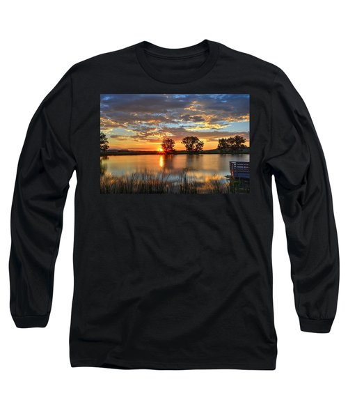 Golden Sunrise Long Sleeve T-Shirt