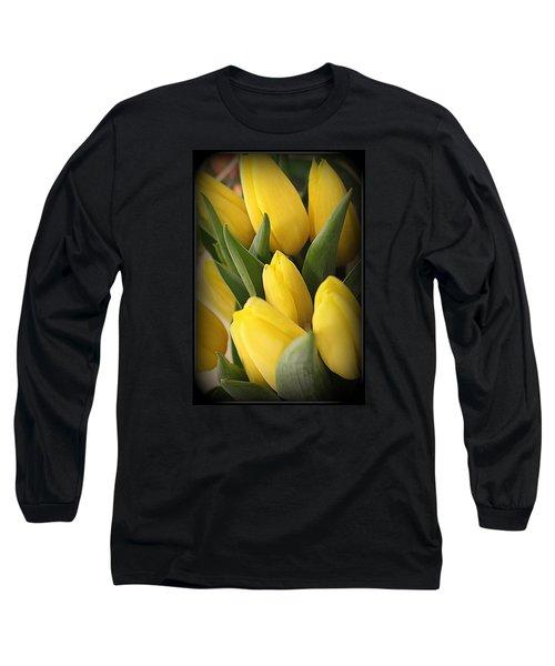 Golden Tulips Long Sleeve T-Shirt