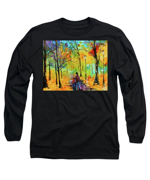 Golden Walk Long Sleeve T-Shirt
