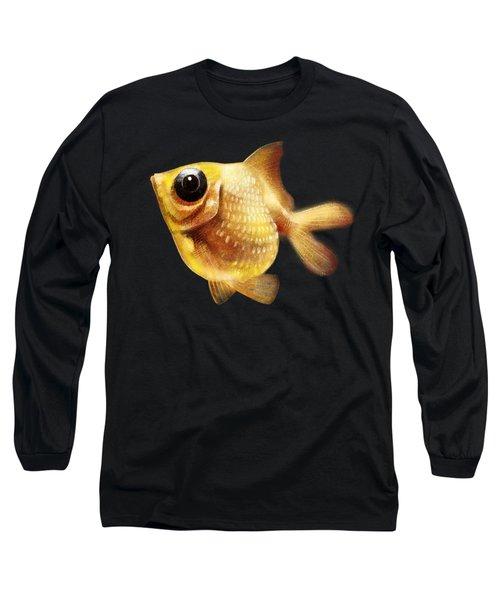 Goldfish Long Sleeve T-Shirt by Abdul Jamil