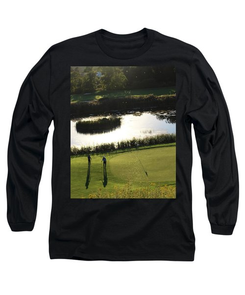 Golf - Puttering Around Long Sleeve T-Shirt