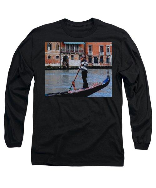 Gondolier Venice Long Sleeve T-Shirt