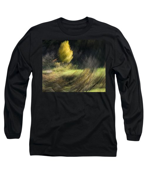 Long Sleeve T-Shirt featuring the photograph Gone With The Wind by Raffaella Lunelli