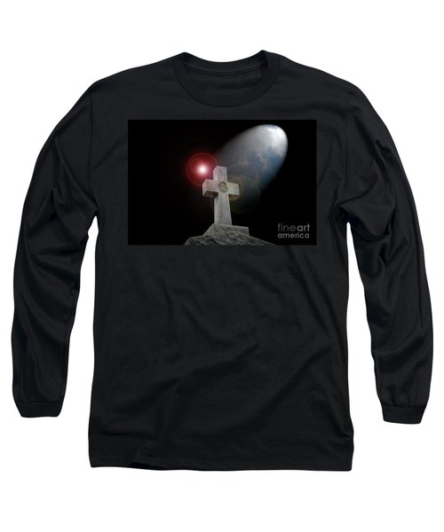 Good Friday Long Sleeve T-Shirt by Bonnie Barry