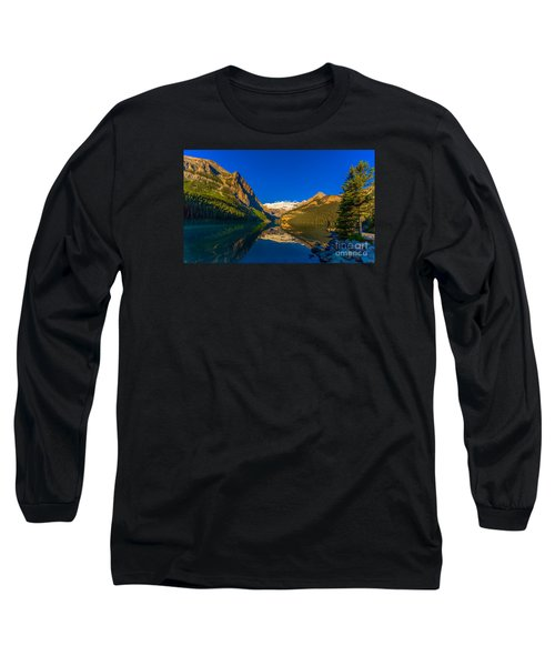 Good Morning Lake Louise Long Sleeve T-Shirt