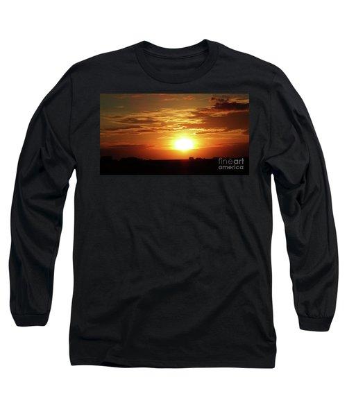 Good Morning Sun  Long Sleeve T-Shirt by J L Zarek