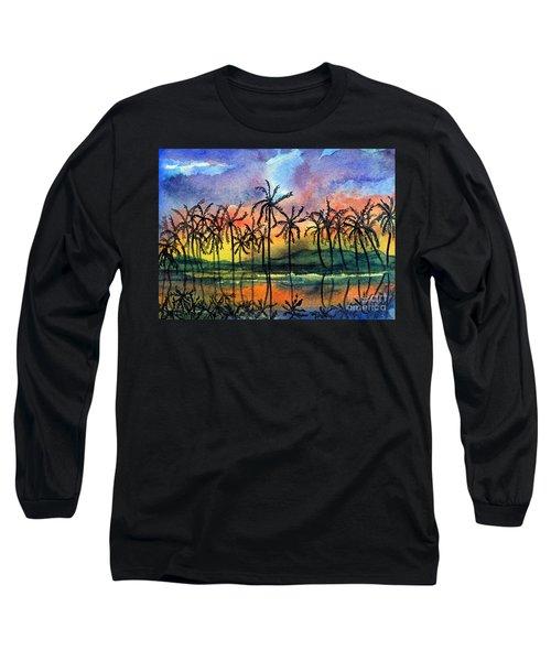 Good Night Hawaii Long Sleeve T-Shirt