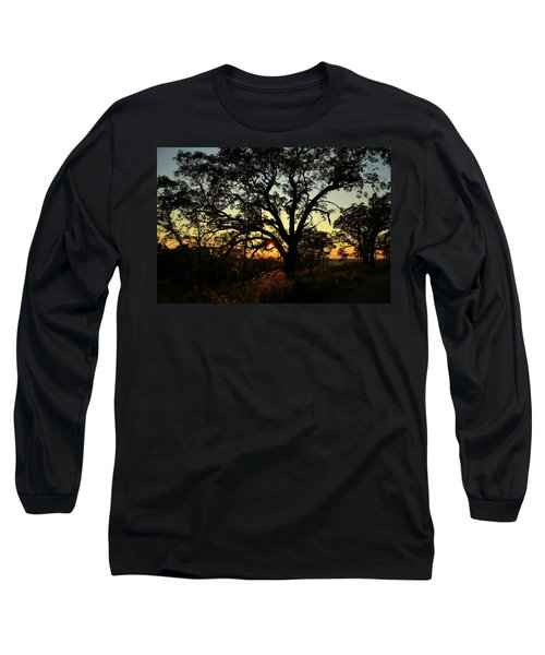 Good Night Tree Long Sleeve T-Shirt