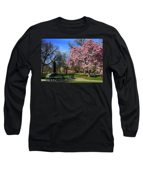 Goodale Park In The Spring Long Sleeve T-Shirt