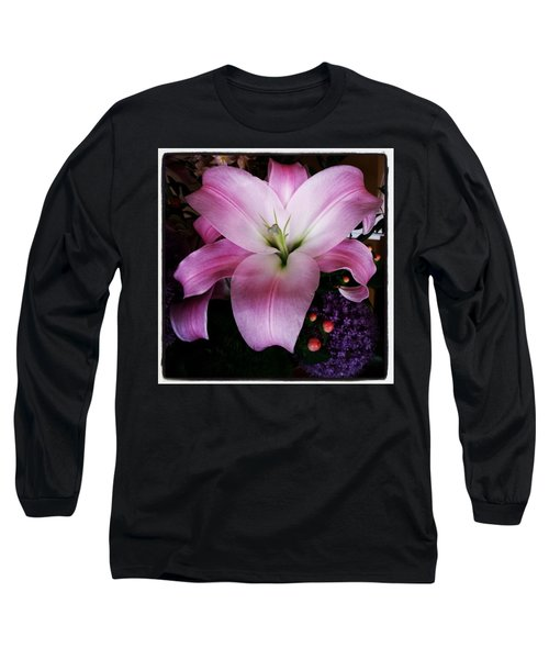 Long Sleeve T-Shirt featuring the photograph Gorgeous Flowers. Real. I Think They by Mr Photojimsf
