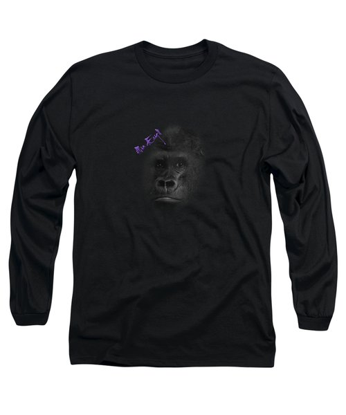 Gorilla Long Sleeve T-Shirt by Maria Astedt