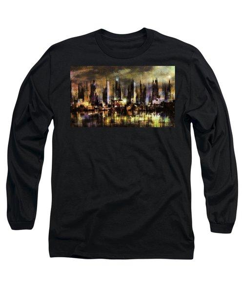 Gotham City IIi Long Sleeve T-Shirt