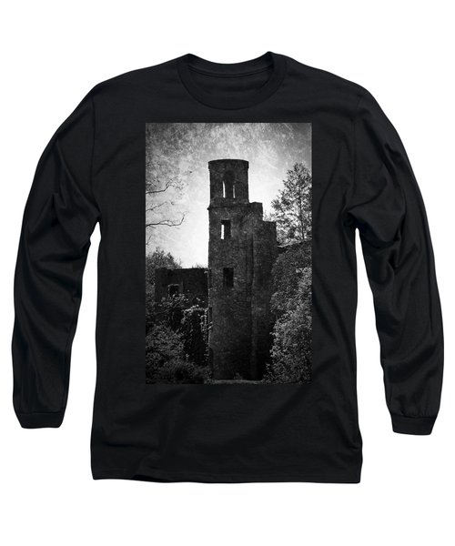 Gothic Tower At Blarney Castle Ireland Long Sleeve T-Shirt