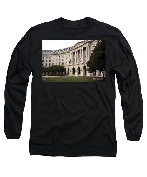 Government Achitecture In Washington Dc Long Sleeve T-Shirt