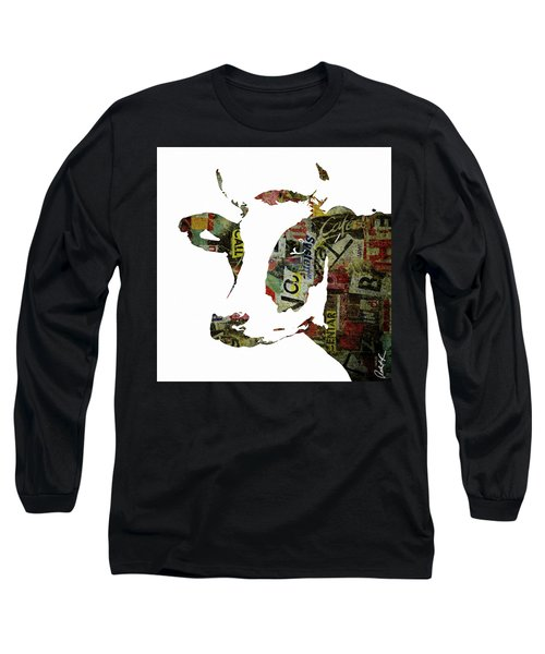 Graffiti Cow Abstract Modern Painting Pop Art Prints Poster  Robert Erod  Long Sleeve T-Shirt