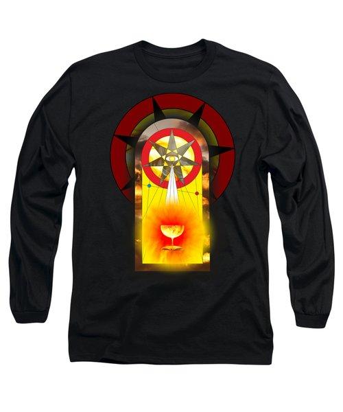 Grail Magic By Pierre Blanchard Long Sleeve T-Shirt