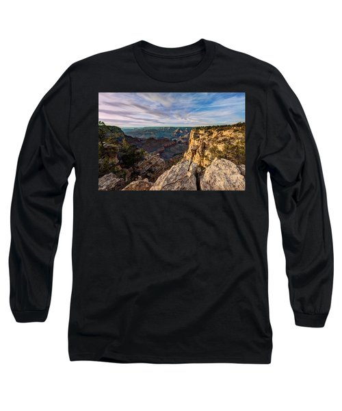 Grand Canyon National Park Spring Sunset Long Sleeve T-Shirt