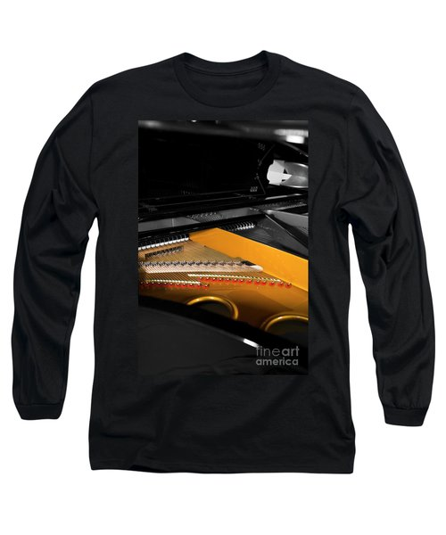 Grand In Selective Color Long Sleeve T-Shirt