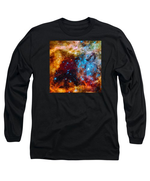 Grand Star-forming Region Long Sleeve T-Shirt by Marco Oliveira