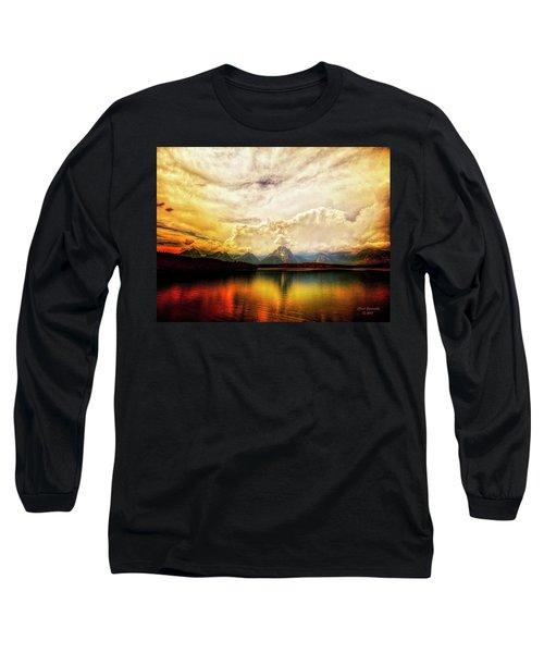 Grand Tetons - Jenny Lake No. 2 Long Sleeve T-Shirt