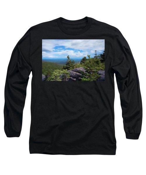 Grandfather Mountain Long Sleeve T-Shirt by Glenn Gemmell