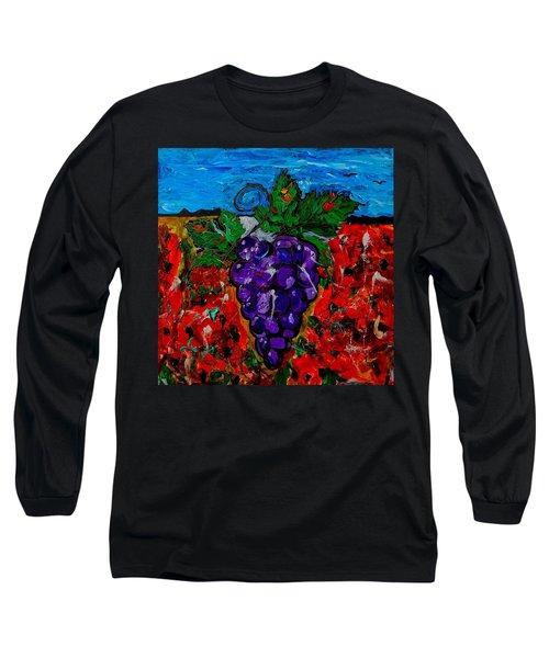 Grape Jazz Long Sleeve T-Shirt