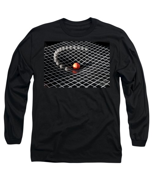 Gravity Simulation Long Sleeve T-Shirt by Ted Kinsman