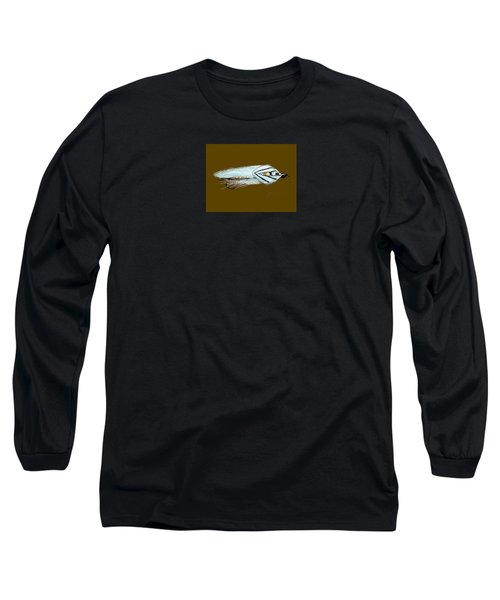 Long Sleeve T-Shirt featuring the painting Gray Ghost by Jean Pacheco Ravinski