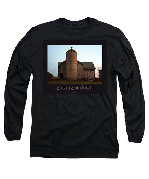 Grazing At Dawn Long Sleeve T-Shirt