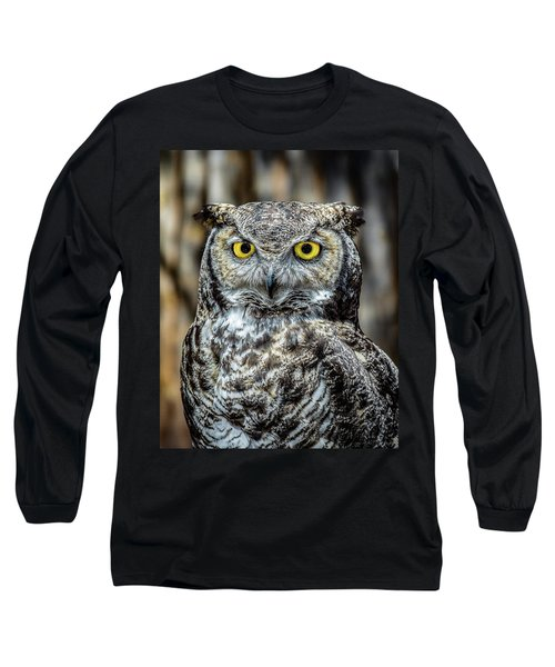 Whooo Me ? Long Sleeve T-Shirt by Phil Abrams