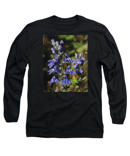 Great Lobelia Blues Long Sleeve T-Shirt