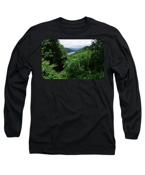 Long Sleeve T-Shirt featuring the photograph Great Smoky Mountains by Cathy Harper