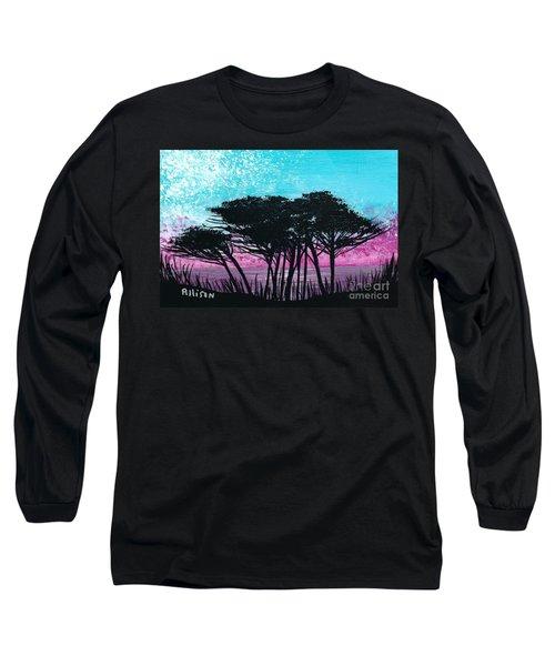 Grecian Sunset Long Sleeve T-Shirt