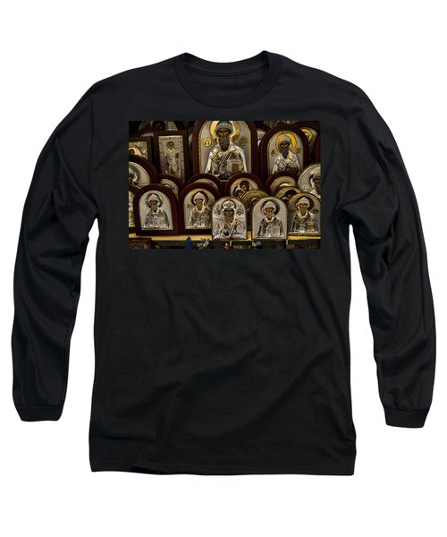 Greek Orthodox Church Icons Long Sleeve T-Shirt