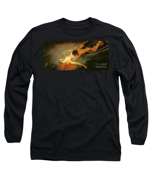 Green Abyss Long Sleeve T-Shirt