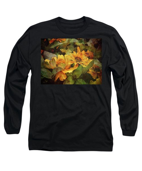 Green And Gold 1068 Idp_2 Long Sleeve T-Shirt