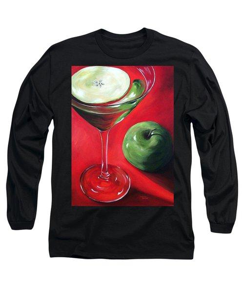 Green Apple Martini Long Sleeve T-Shirt
