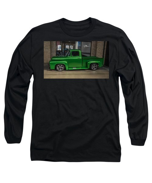 Green Car Long Sleeve T-Shirt