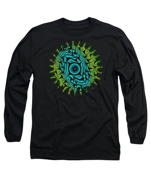 Green Dragon Eye Long Sleeve T-Shirt